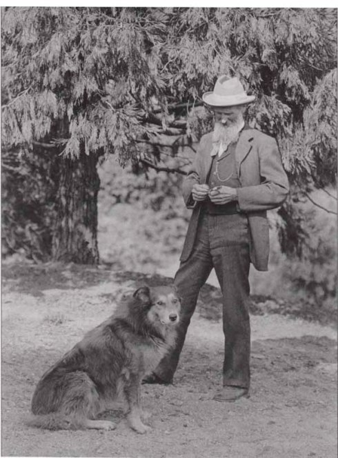 John Muir and Stickeen, circa 1880